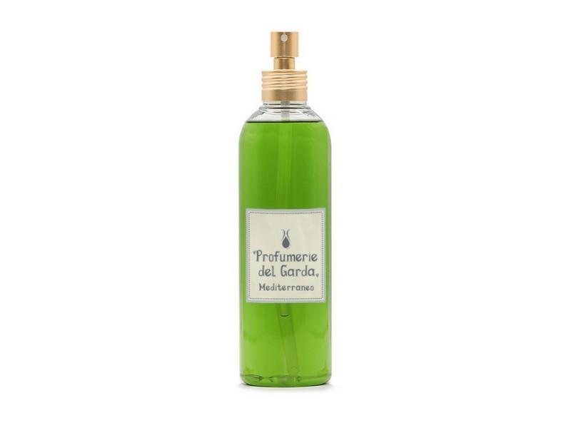 Homemania spray mediterraneo - diffuseur, assainisseurs d'air - parfum boisé et agrumes - 250 ml vert en plastique, parfum, 5 x 5 x 19,5 cm