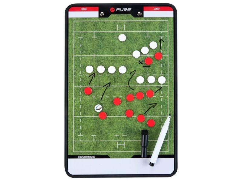 Pure2improve tableau d'entraîneur rugby 35x22 cm p2i100670 418652