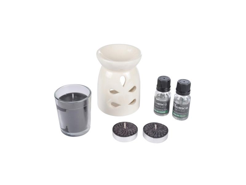 Coffret brule parfum bois de cedre