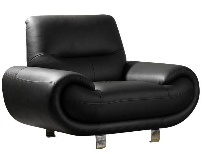 Conforama fauteuil cuir fauteuil blanc conforama for Tapis shaggy avec canape relax electrique cuir center