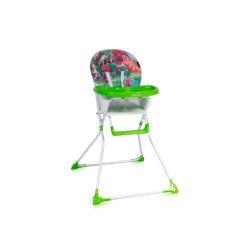 Chaise haute pour bébé bobo vert