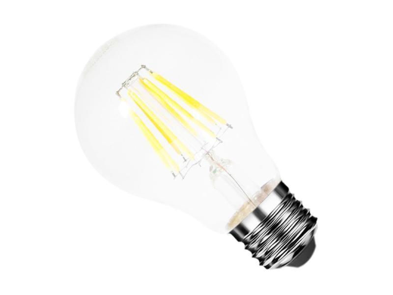 Ampoule e27 led filament 6w 220v cob 360° - blanc chaud 2300k - 3500k
