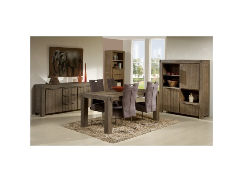 salle manger compl te danna l 180 x l 90 x h 78. Black Bedroom Furniture Sets. Home Design Ideas