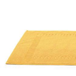 Tapis de bain 50x70 cm pure jaune 700 g/m2