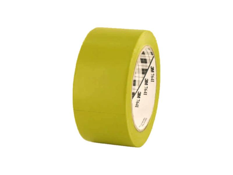 Ruban adhésif vinyle 3m 764 jaune 50mm 764J-50