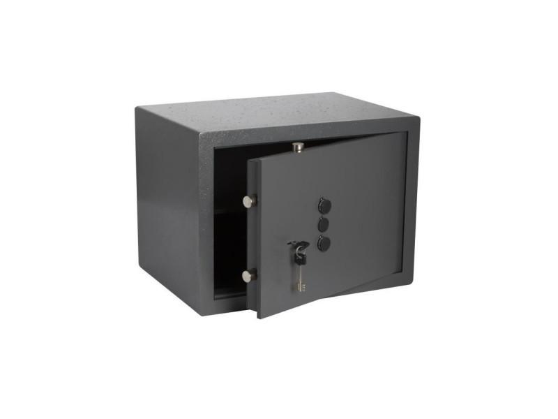 Coffre-fort a clé + boutons 36 x 40 x 30 cm a poser - 24 kg - 19,7 l BRI3188740825347