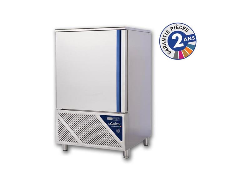 Cellule de refroidissement mixte +70/-18°c - 10 niveaux gn 1/1 ou 600 x 400 - dalmec - r452a de 6 à 10 niveaux