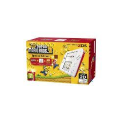 Console nintendo 2ds blanc + rouge + new super mario bros 2