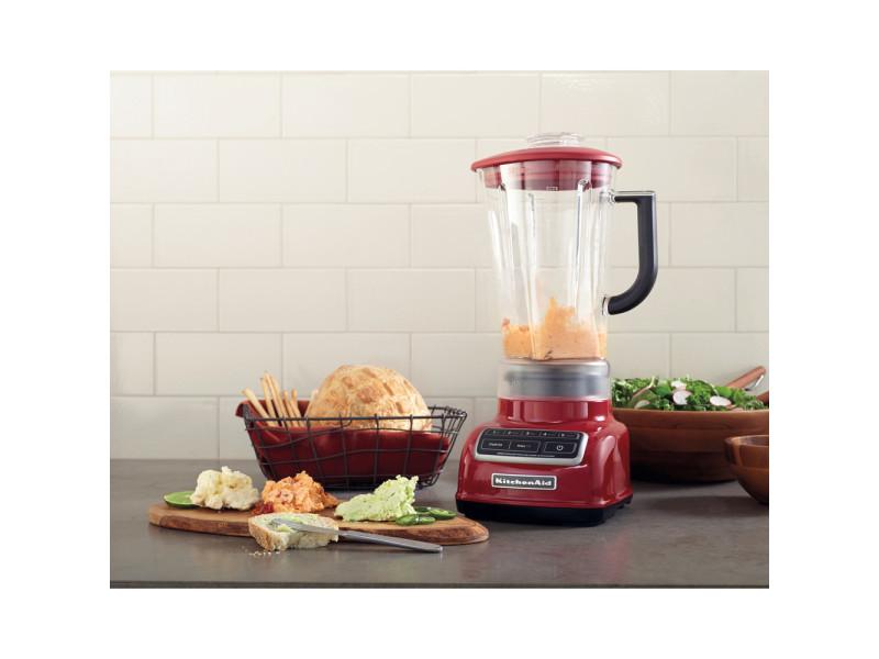 Blender mixeur électrique de 1,75l 550w pomme d'amour gris