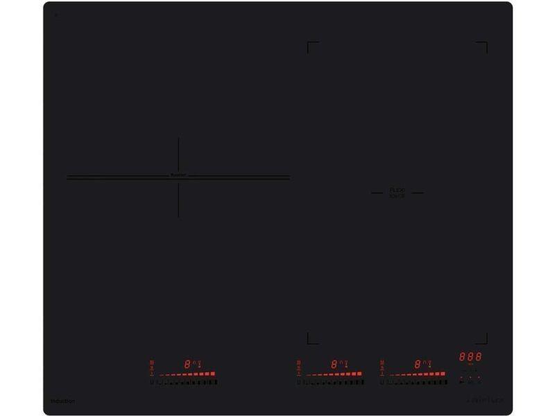Plaque induction airlux 7400w 59cm, atif 63 bkm