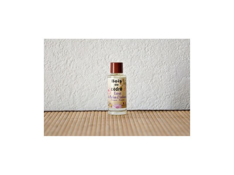Extrait de parfum bois de cèdre