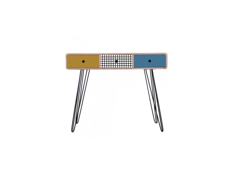 Bureau au style scandinave en bois alto vente de la chaise longue
