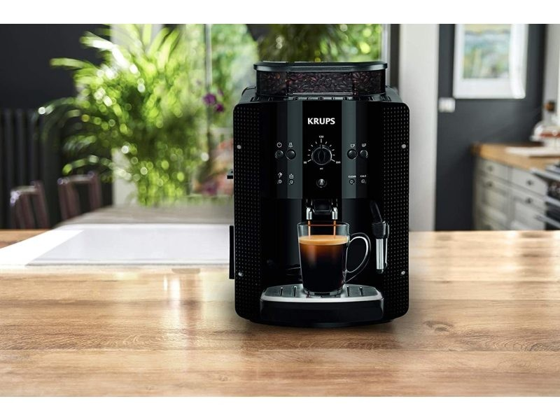 Machine à expresso de 1,7l avec broyeur 1450w noir