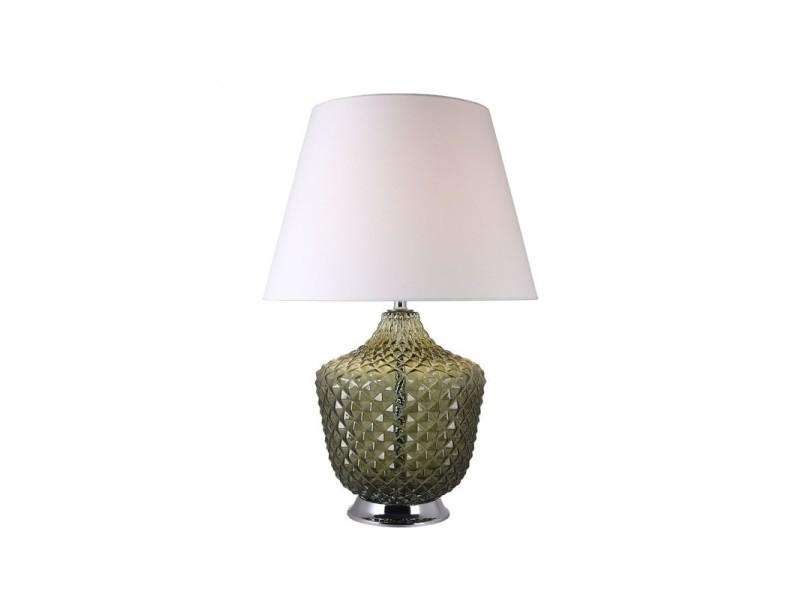 Vert Chic Lampe Poser En Classique Verre À Style Roma Coloré OPXnZ0kN8w