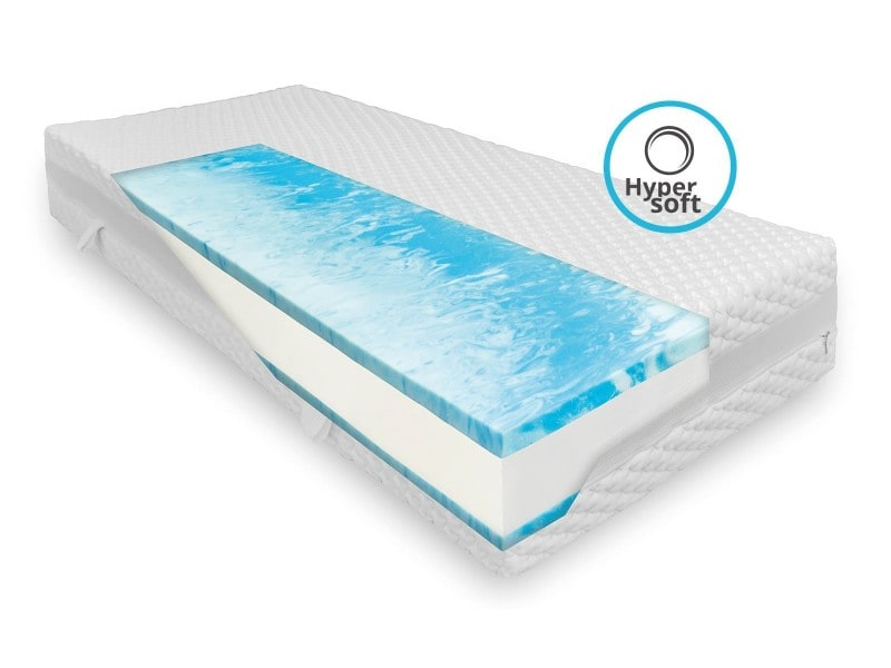 matelas confort ferme 70 x 210 cm en mousse haute qualit paisseur 23 cm conforama. Black Bedroom Furniture Sets. Home Design Ideas