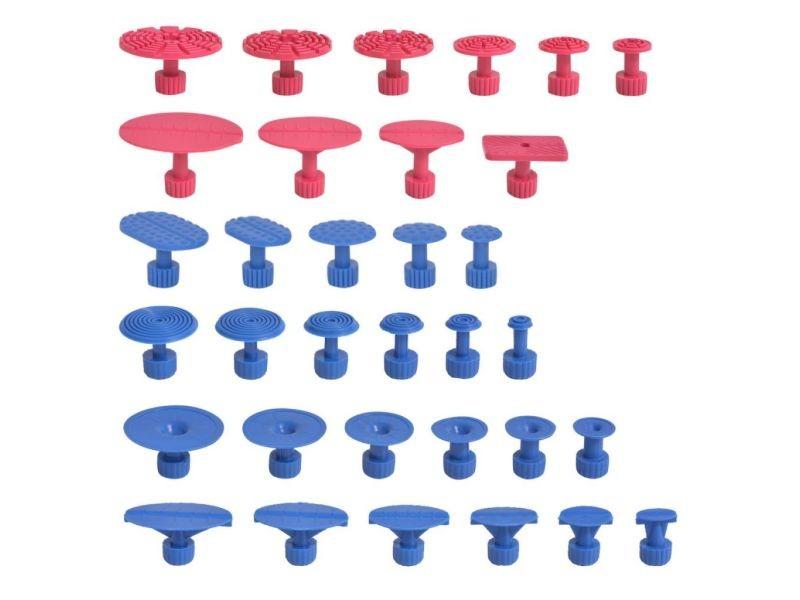 Icaverne - outils à main ligne kit de débosselage sans peinture pdr 87 pcs acier inoxydable