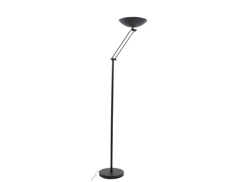 fabulous amazing lampadaire halogne isa noir en mtal vente de keria luminaires conforama with. Black Bedroom Furniture Sets. Home Design Ideas