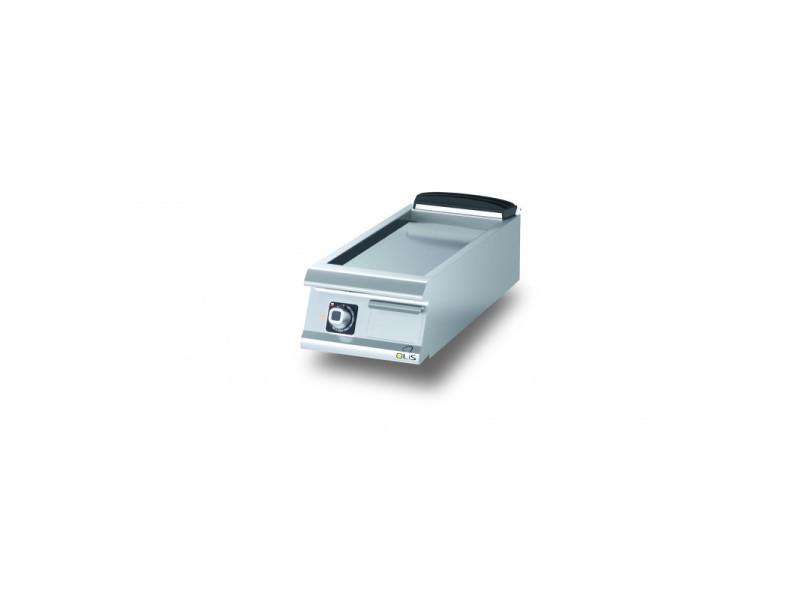 Plancha electrique lisse chromée diamante 90 - 400 à 1200 mm - olis - chromé 400 mm 900