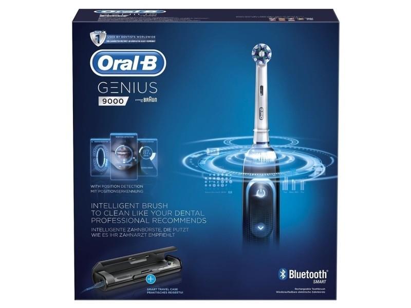 Brosse à dents électrique oral-b genius s9000 crossaction (black) bluetooth