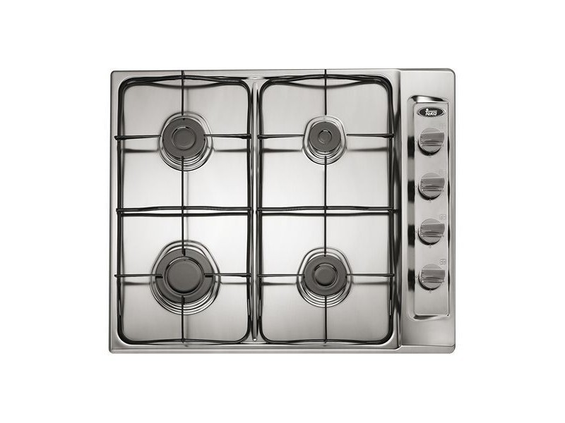 Plaque au gaz 60 cm acier inoxydable (4 cuisinière) - plaque de cuisson cuisine