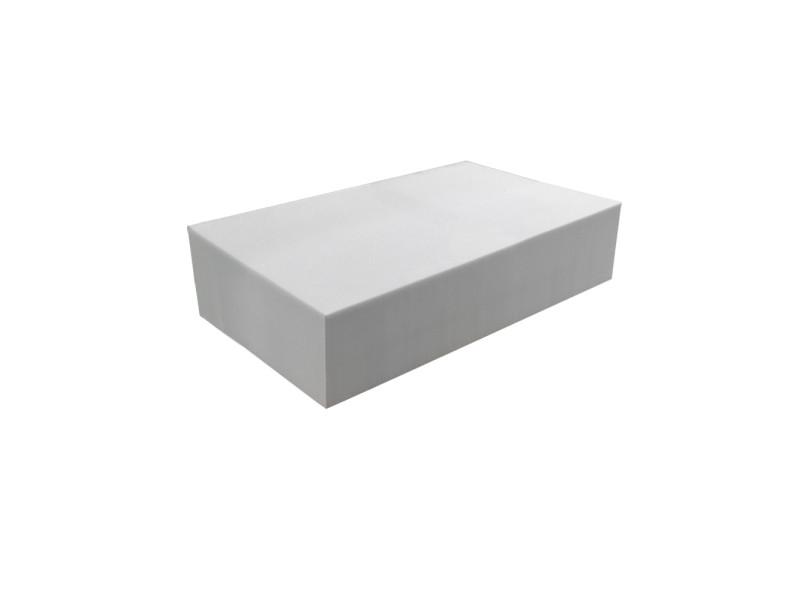 Matelas pour tous | plaque de mousse 30 kg/m³ 80x120 cm | epaisseur 20 cm 3DE.PE.30.20.0812
