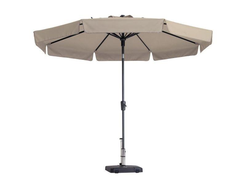 Madison parasol flores luxe 300 cm écru pac2p016 418779