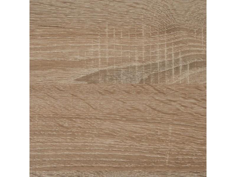 Fmd table de salle à manger 110 cm chêne 428696