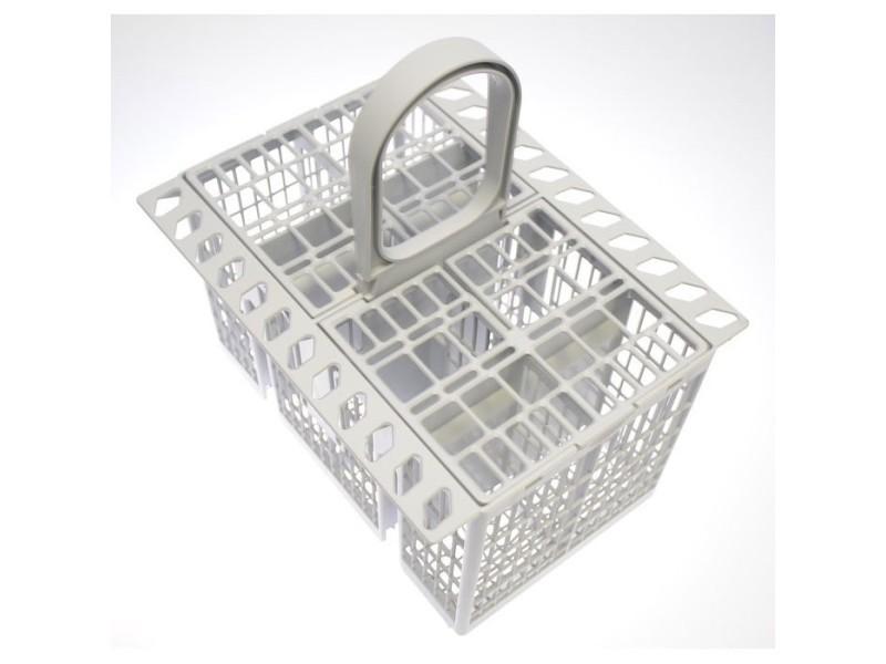Panier porte couverts gris pour lave vaisselle indesit hotpoint ariston
