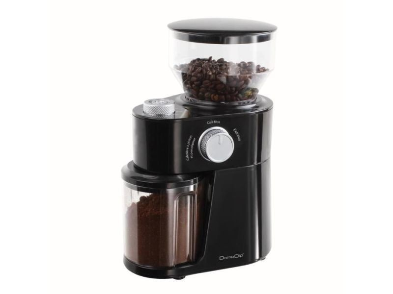 Domoclip dod158 moulin a cafe electrique - noir DOM3523930095054