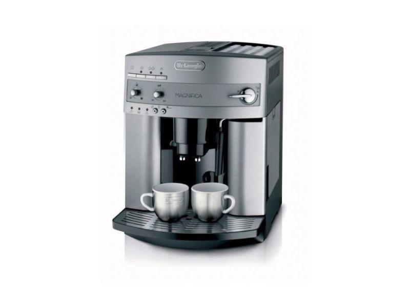 Machine à expresso avec broyeur pour café en grains et moulu 1450w argent