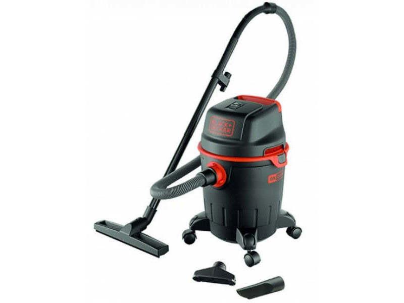 Black & decker aspirateur eau et poussiere 1200 w cuve 20 l en plastique 8016287516822