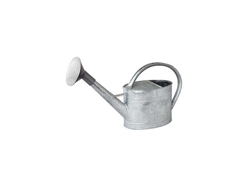 Arrosoir acier galvanisé avec pomme 6 litres