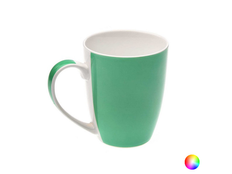 Tasses et thermos stylé couleur vert tasse mug porcelaine