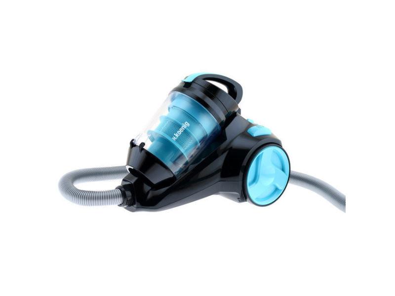 H.koenig sls890 aspirateur polycyclonique sans sac silencieux bleu