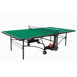 Tennis de table garlando e plateau vert e master c-372i
