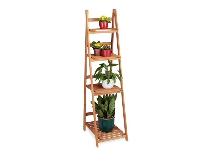 escalier tag re meuble pour plantes bois jardin pot 161 cm helloshop26 2013081 vente de pot. Black Bedroom Furniture Sets. Home Design Ideas
