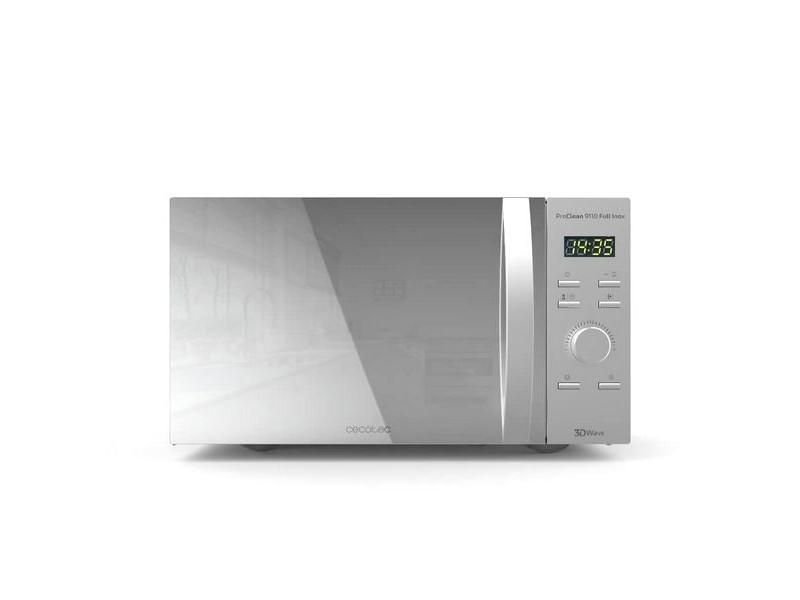 Micro-ondes avec gril 30 l 1000w argenté