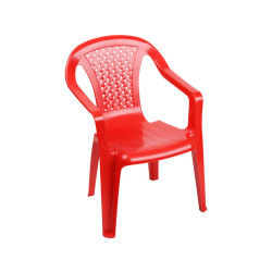 simple chaise enfant camlia rouge with chaise plastique conforama. Black Bedroom Furniture Sets. Home Design Ideas