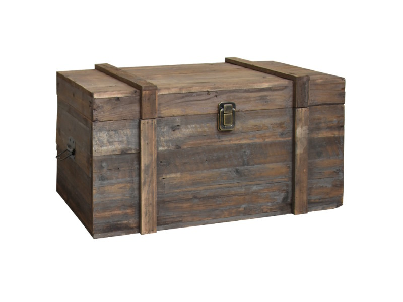 Grande Malle Grand Coffre Table Basse De Rangement 90 Cm X