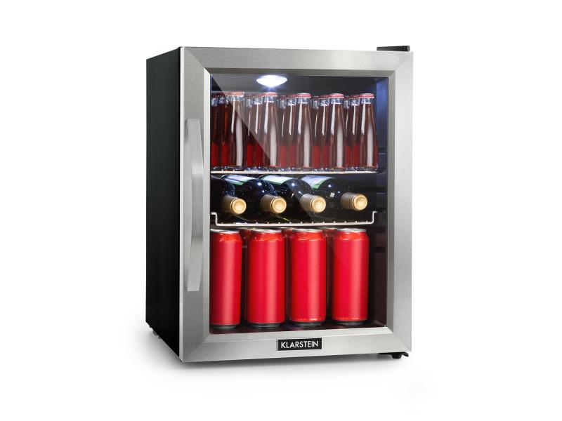 Réfrigérateur compact - klarstein beersafe m - 35 litres - noir