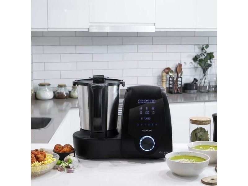 Robot de cuisine multifonctions de 3,3l avec 30 fonctions noir