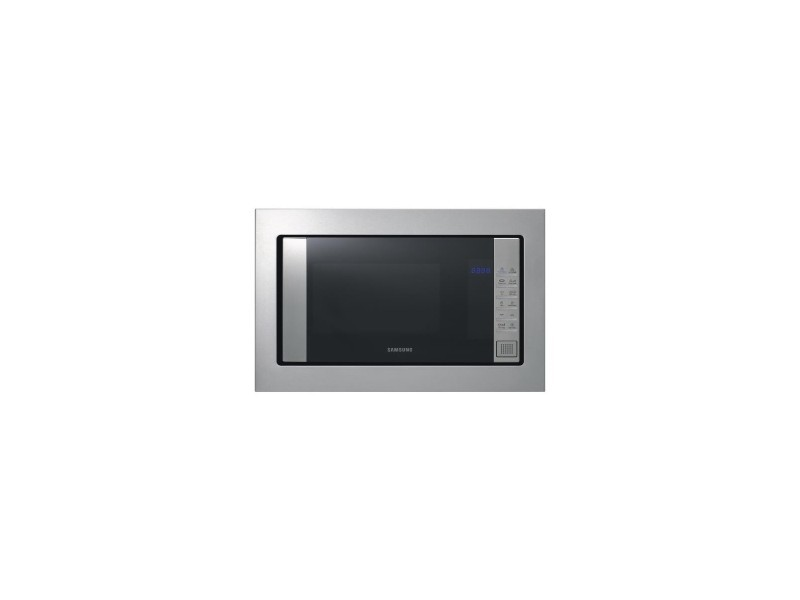 Micro-ondes 850w - gril 1100w - 20 l - fonction steamclean, plat crustycook, finition inox