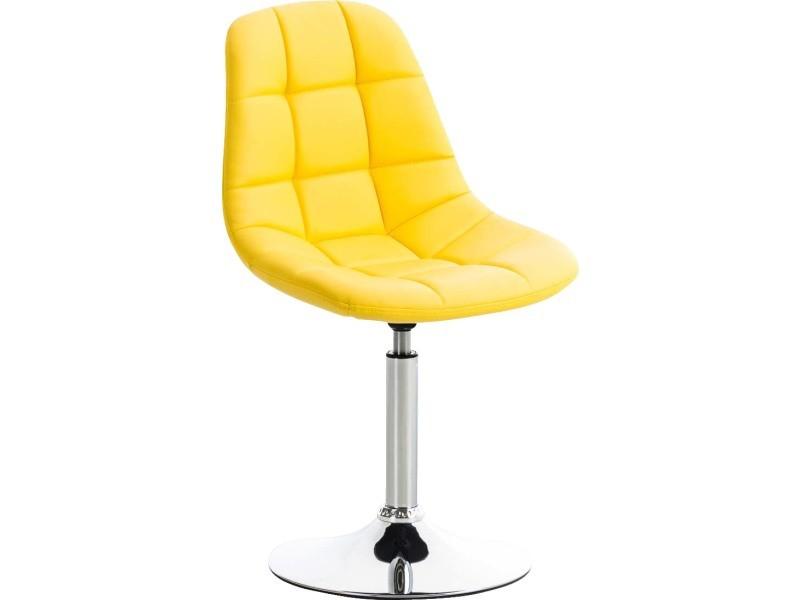 Esthetique chaise de salle à manger, de cuisine, de salon lima cuir synthetique