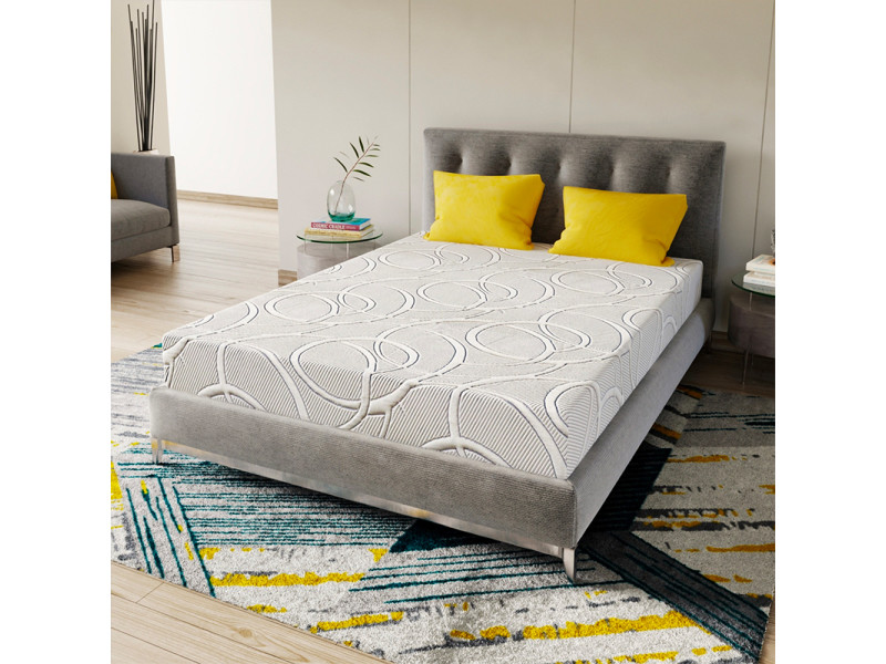 matelas poseidon 140x190 m moire de forme 21 cm vente de olympe literie conforama. Black Bedroom Furniture Sets. Home Design Ideas