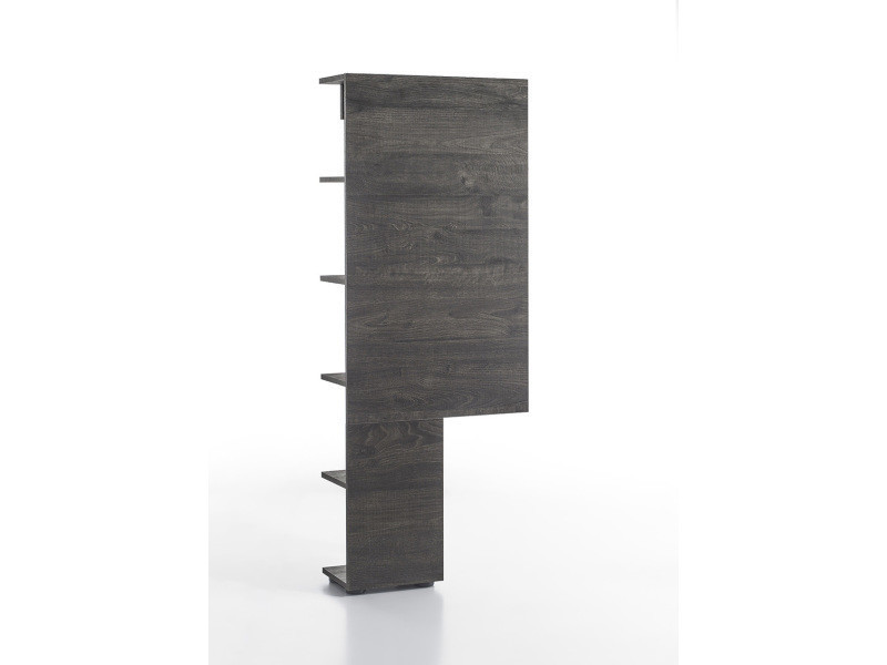 colonne de rangement pour meuble tv marron design en bois mdf 55 cm p 32838 co c nicasio vente. Black Bedroom Furniture Sets. Home Design Ideas