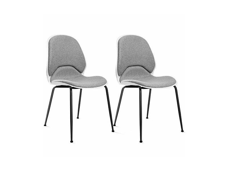 Lot de 2 chaises de salle à manger, chaise de cuisine ...