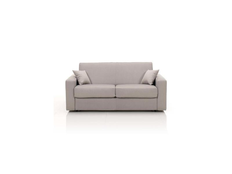 canap convertible 2 places maxi tissu d houssable caf. Black Bedroom Furniture Sets. Home Design Ideas