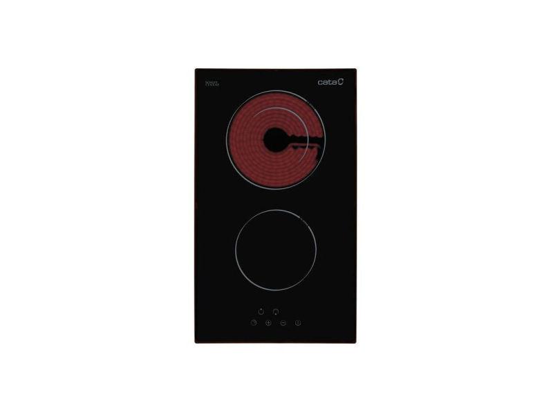 Cata table de cuisson vitrocéramique td302 52cm noire