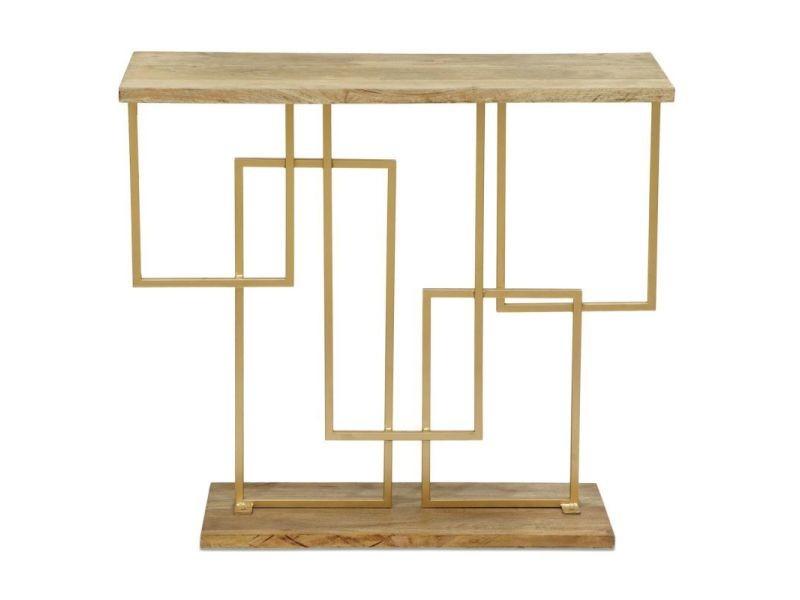Paris prix - console design en bois & métal \