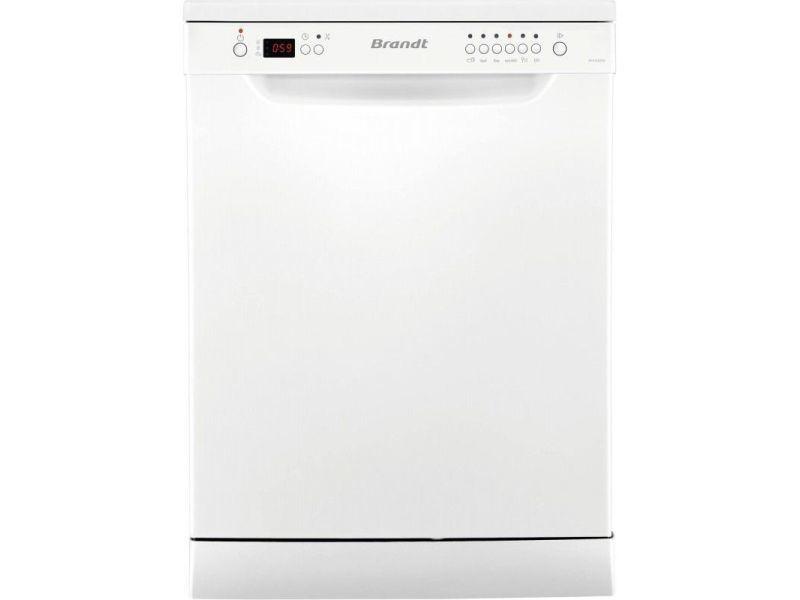 Lave-vaisselle pose libre brandt 12 couverts 60cm a++, 1045235